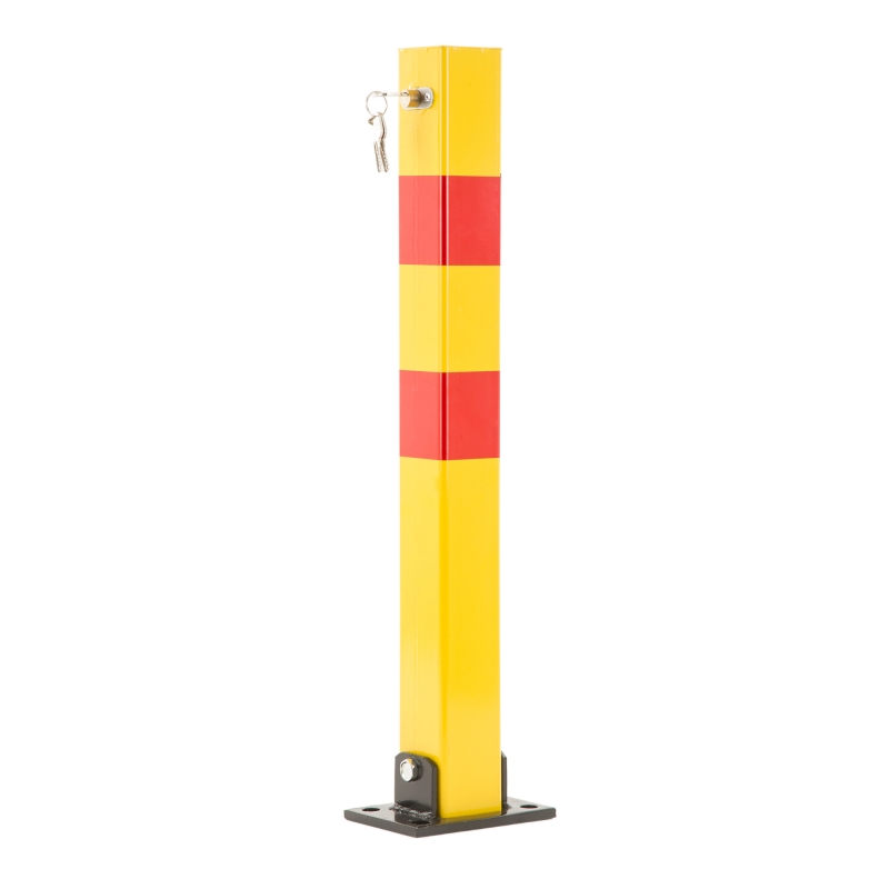 Potelet de Parking rabattable PROPARK LOCK70 Jaune