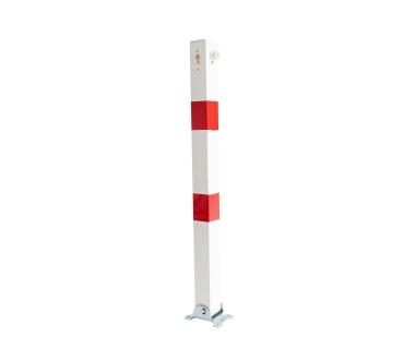 Potelet carré rabattable hauteur 1 mètre
